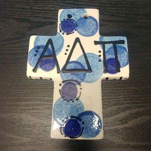 Accessories - Alpha Delta Pi Ceramic Cross